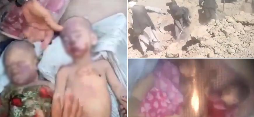 Afganistan'da ABD katliamı: Çoğu kadın ve çocuk 37 ölü