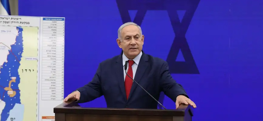 Netanyahu Batı Şeria'dan sonra El Halil'i de ilhak edeceğini vaad etti