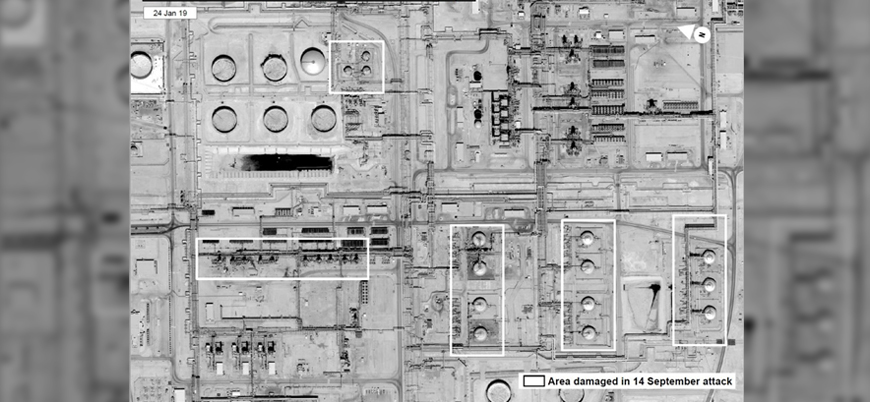 ABD Aramco tesislerine yapılan saldırıların uydu görüntülerini yayınladı