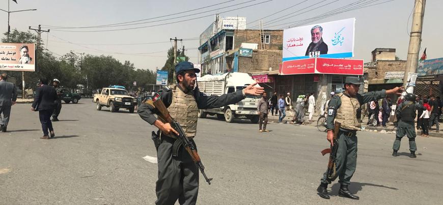 Afganistan'da Eşref Gani'nin de katıldığı seçim mitingine bombalı saldırı: 33 ölü
