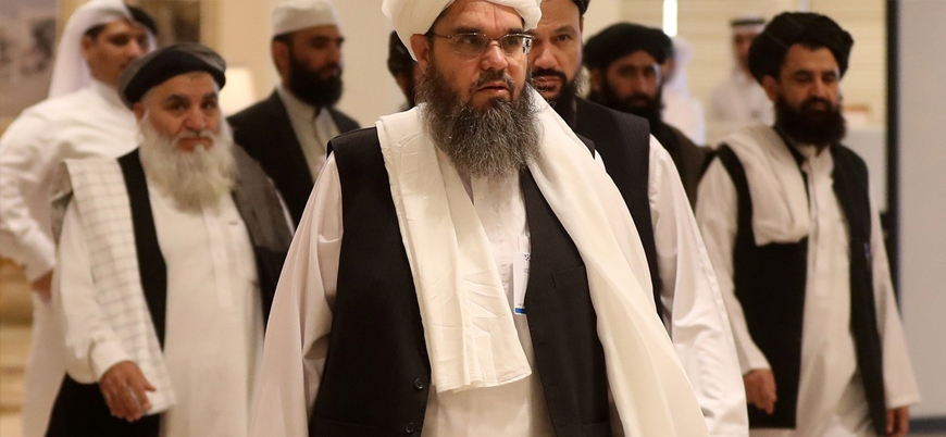 Taliban siyasi heyeti İran'da