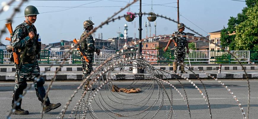 Keşmir'de Hindistan ve Pakistan arasında çatışma