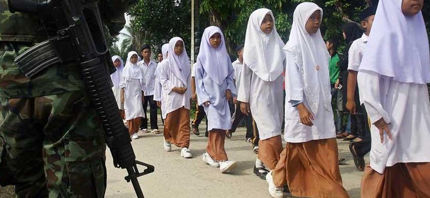 Tayland Başbakanı'ndan Müslüman öğrencilerin fişlenmesine destek