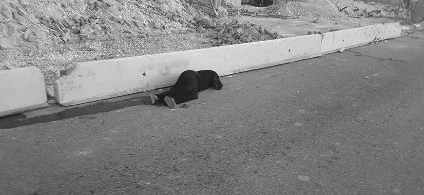 İsrail askerleri Filistinli bir kadını sokak ortasında katletti