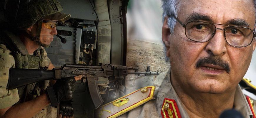 Rus paralı askerler Türkiye karşıtı Hafter'e destek için Libya'da