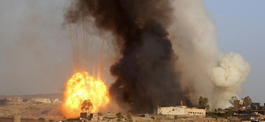 Suudi Arabistan Hudeyde'de İran destekli Husilere saldırı başlattı