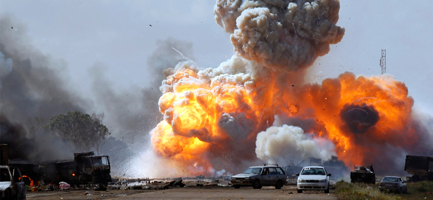 ABD'den Libya'da IŞİD'e hava saldırısı