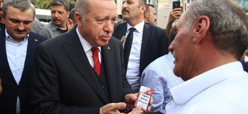 Erdoğan: Şoför de arkada oturanlar da sigara içemeyecek