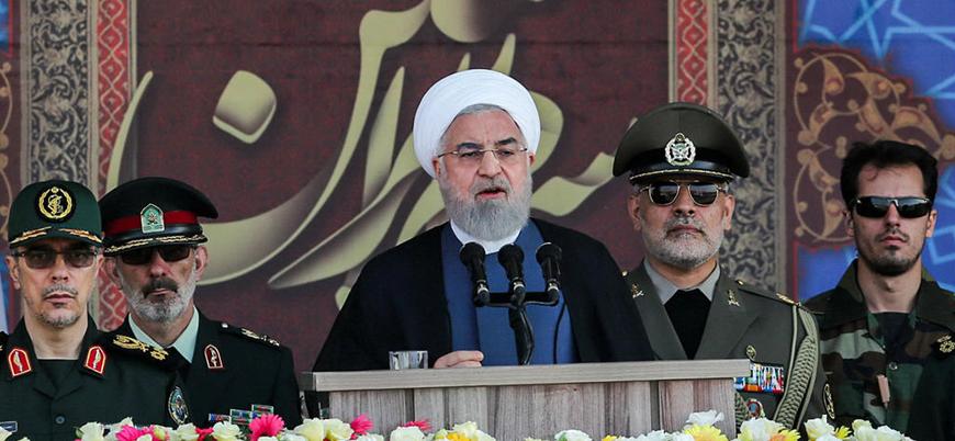 """Ruhani: İran bölge ülkelerine """"dostluk ve kardeşlik"""" elini uzattı"""