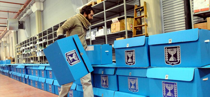 İsrail'de Arap blokundan Netanyahu'nun rakibi Gantz'a destek