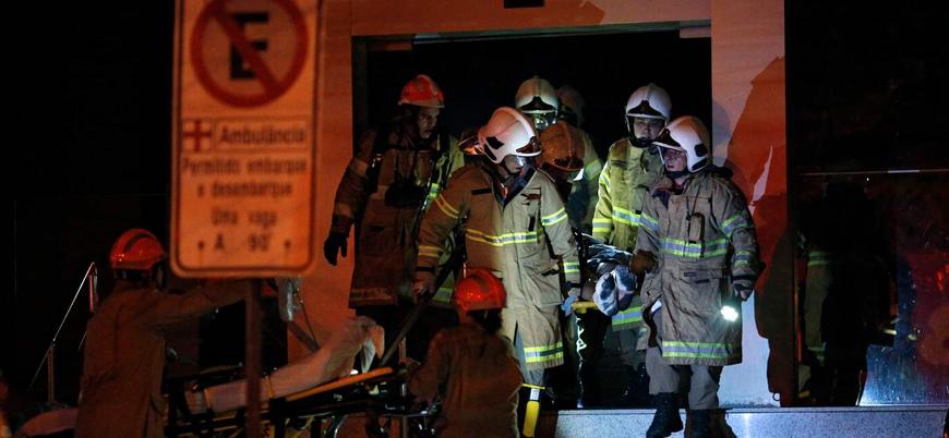 Cezayir'deki yangında 8 bebek hayatını kaybetti