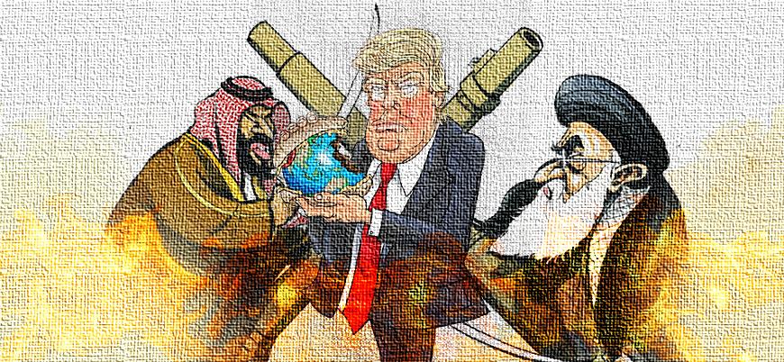 Trump doktrini, İran ve Suudi Arabistan
