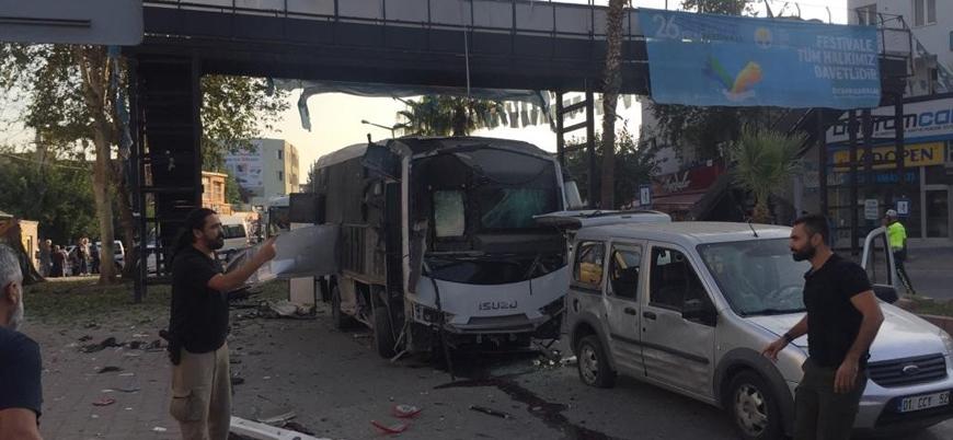 Adana'da çevik kuvvet aracına bombalı saldırı: Yaralılar var