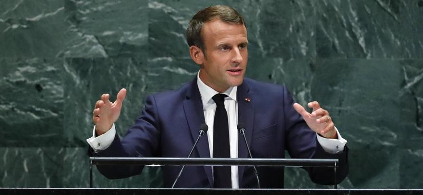 Macron: Şartlar oluştu ABD ile İran görüşmelere başlayabilir