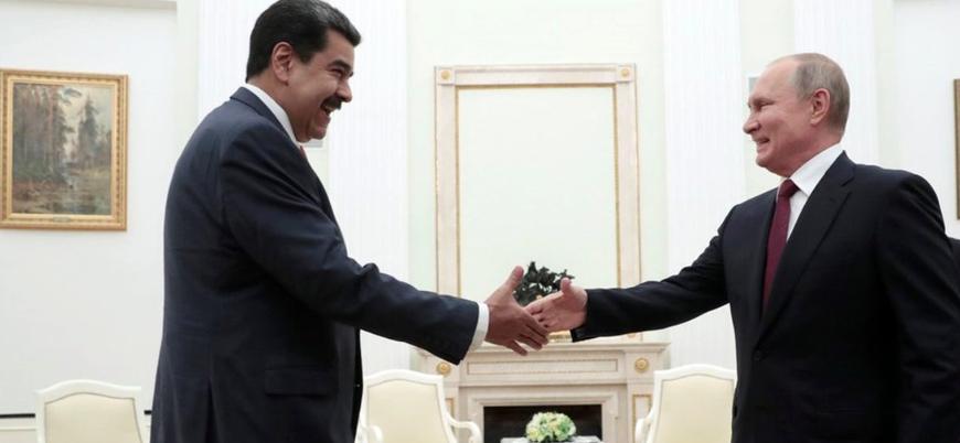 Rusya Venezuela'ya askeri birlik gönderdi