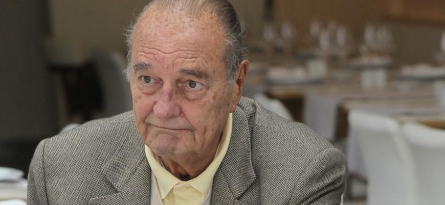 Fransa'nın eski cumhurbaşkanı Chirac 86 yaşında öldü