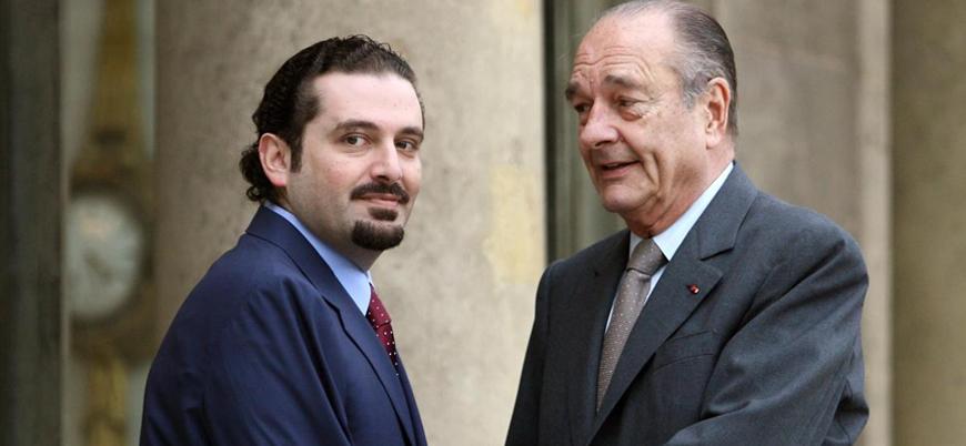 Lübnan'da eski Fransa Cumhurbaşkanı Chirac için yas ilan edildi