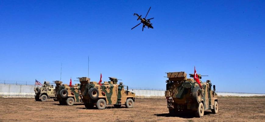 Fırat'ın doğusunda TSK ile ABD'den 7'nci ortak helikopterli devriye uçuşu
