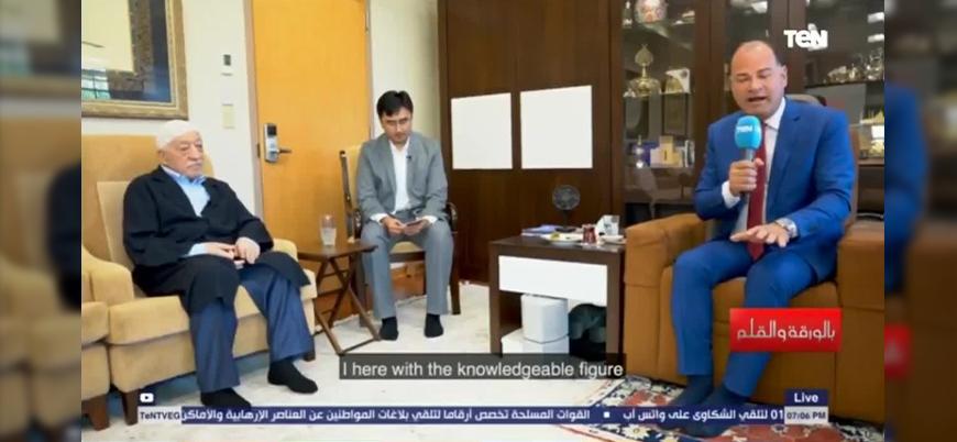 """Mısır televizyonu Fethullah Gülen ile röportaj yaptı: """"Sisi için dua ediyorum"""""""
