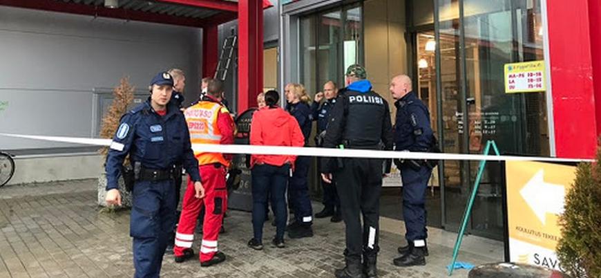 Finlandiya'da bıçaklı saldırı: 1 ölü 10 yaralı