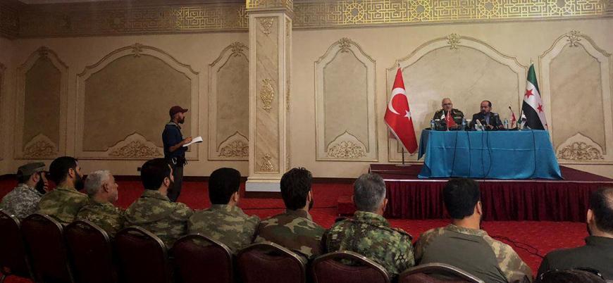 Suriye'de Türkiye destekli ÖSO gruplarından geniş kapsamlı birleşme