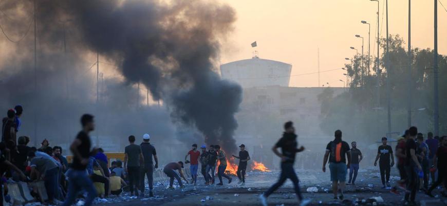 Irak'ta hükümet karşıtı protestolar beşinci gününde: En az 65 ölü