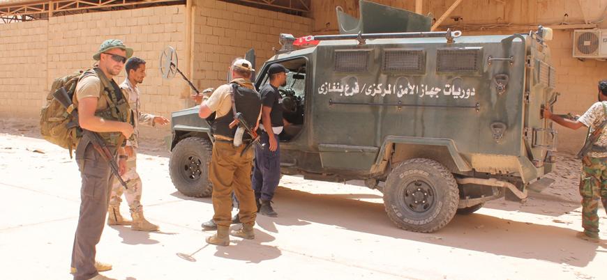"""""""Libya'da Rus paralı askerler çatışma bölgesinden tahliye edildi"""""""