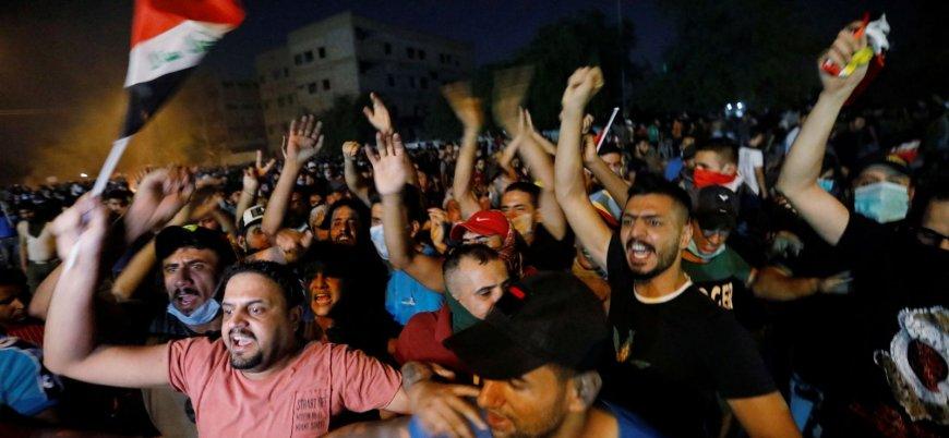 Irak'taki gösterilerde 3 kişi öldü, 100'e yakın kişi yaralandı