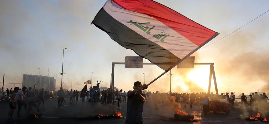 Sünniler Irak'ta patlak veren protestoların neresinde?