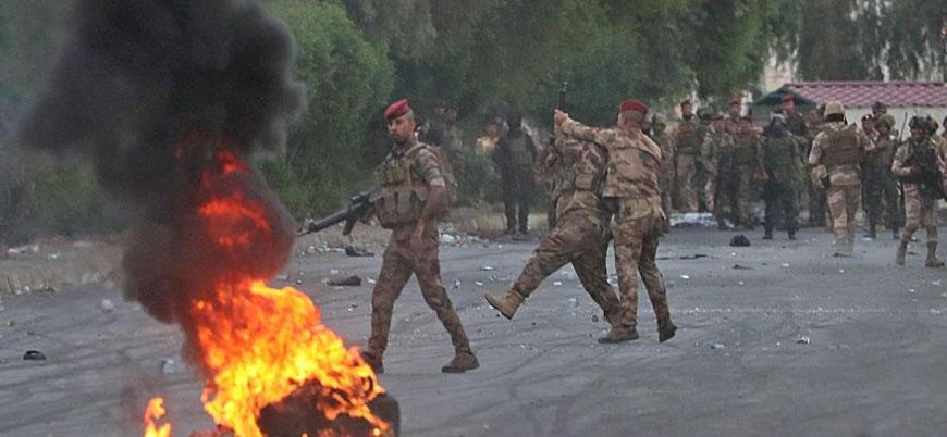 Bağdat hükümeti güçlerinden göstericilere karşı 'orantısız şiddet' açıklaması