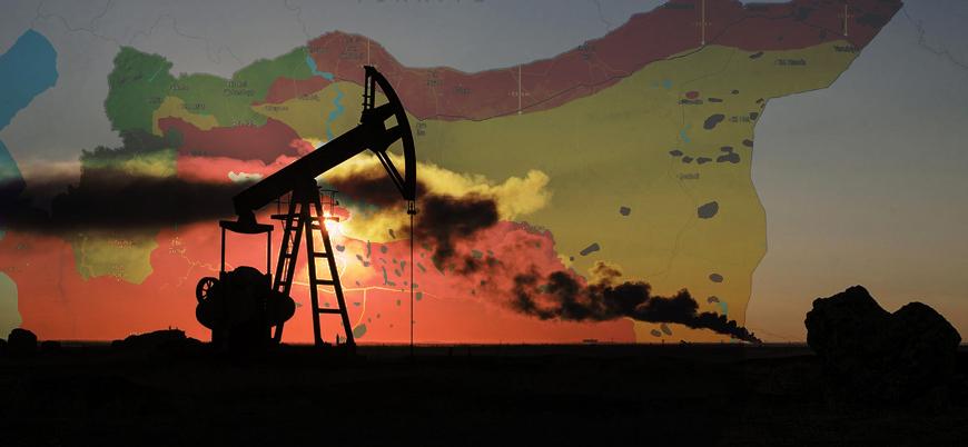Harita | Suriye'nin petrol ve gaz yatakları