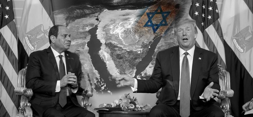 Trump'ın kanlı planı: ABD Filistin'i Sina Yarımadası'na taşıyacak