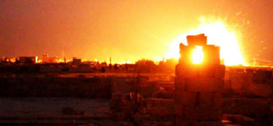 Suriye'de mühimmat deposunda patlama: İki Rus askeri öldü