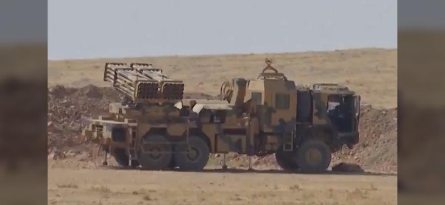 Harekata doğru: Suriye sınırına roketatar rampaları yerleştirdi