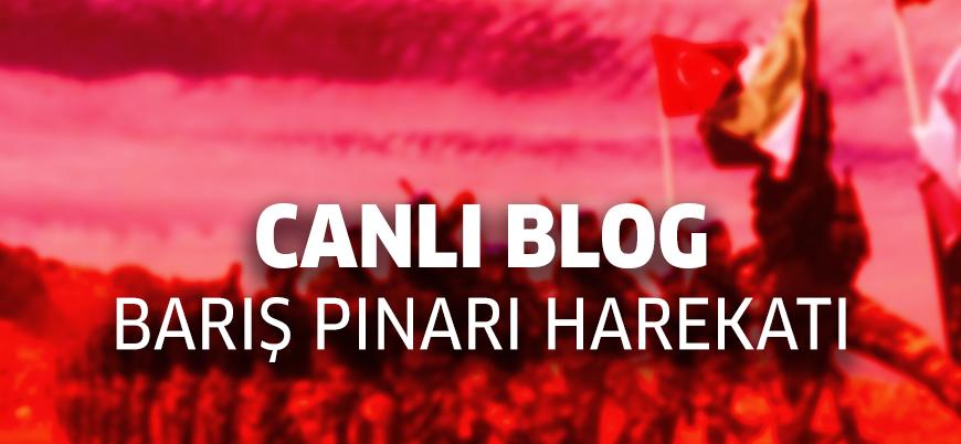 Canlı Blog | Türkiye Fırat'ın doğusuna yönelik Barış Pınarı Harekatı'nı başlattı