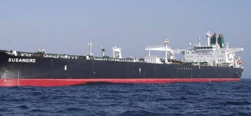 Kızıldeniz'de İran tankeri vuruldu
