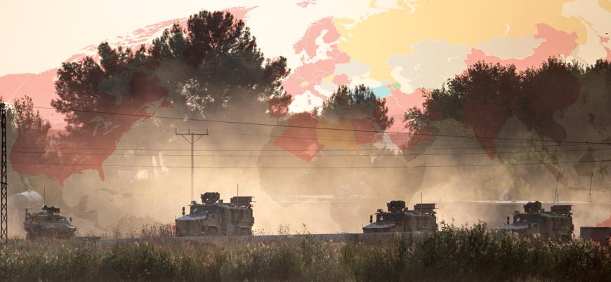 Türkiye'nin Barış Pınarı Harekatı'na dünyanın tutumu nasıl?