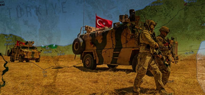 Harita | Barış Pınarı Harekatı'nda son durum - 11 Ekim
