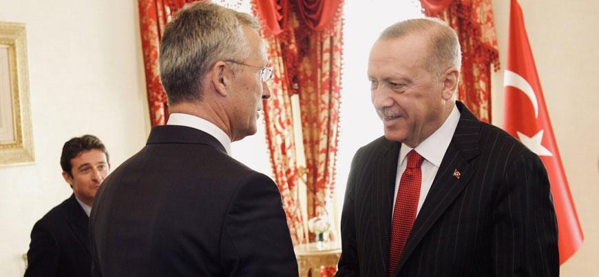 Gündem Suriye: Erdoğan NATO Genel Sekreteri Stoltenberg ile görüştü