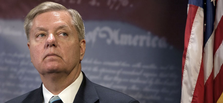 ABD'li Türkiye karşıtı senatör Graham: Güvenli bölge uluslararası gücün elinde olmalı