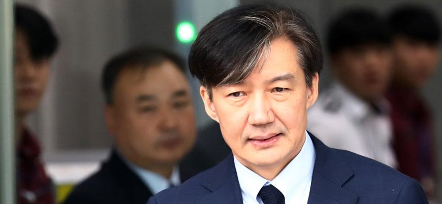 Güney Kore'de Adalet Bakanı Cho Kuk istifa etti