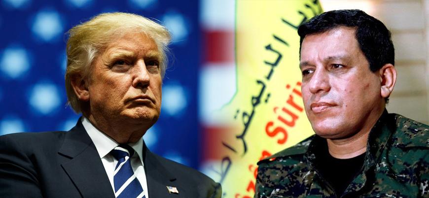 ABD Başkanı Trump YPG'nin genel komutanıyla görüştü