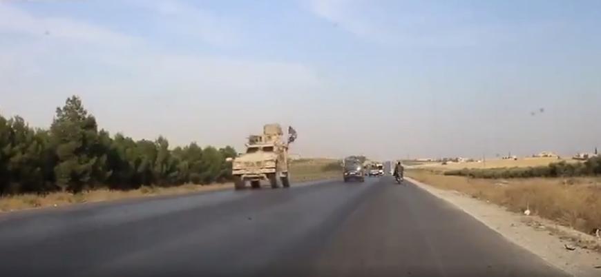 Ayn el Arab'ı terk eden ABD güçleri otoyolda Esed milisleriyle karşılaştı