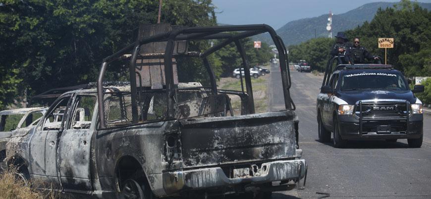 Meksika'da polise pusu: 14 ölü
