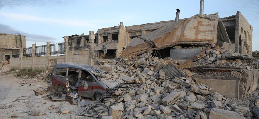 BM koordinatları verdi Rusya İdlib'de hastaneleri vurdu