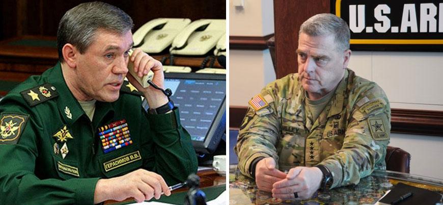 Rusya ve ABD genelkurmay başkanları Suriye'yi görüştü