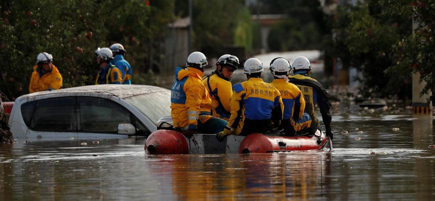 Japonya'da son 60 yılın en şiddetli tayfununda 68 kişi öldü
