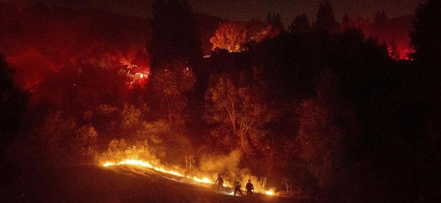Lübnan'da orman yangınları: Türkiye'den yardım talep edildi