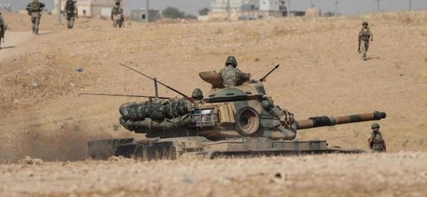Barış Pınarı Harekatı'nda 8'inci gün: Rasulayn'daki YPG mevzileri ateş altında