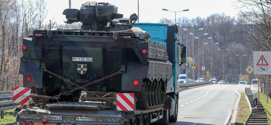 Almanya 2020'de Ortadoğu'da savaş bölgelerine bir milyar euro'luk silah sattı